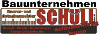 Logo Bauunternehmen Schüll